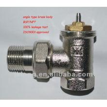 Winkel Thermostat Heizkörper Ventil automatische Typ