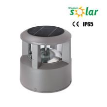 Nuevos productos 2015 CE Solar bolardo lámpara con LED y panel solar para iluminación (JR-CP46)