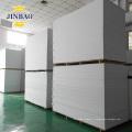 JINBAO Imperméable à l'eau 4x8 pi 1/8 d'épaisseur extrude dur feuille de mousse de PVC blanc