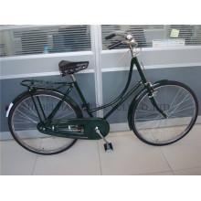 Vélo traditionnel de 28 po, vélo rétro Lady, vélo