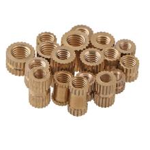 knurled thread brass insert nut