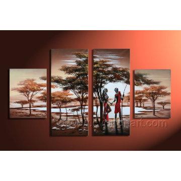 Landschaft Ölgemälde auf Leinwand für Wohnkultur Ar-006