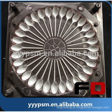 Super qualidade plástico moldagem por injeção de colher, boa qualidade molde de injeção plástica colher molde, fabricante de moldes de colher de plástico na china