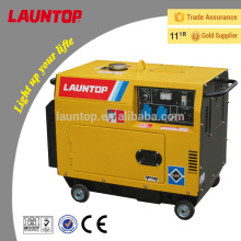 5.5kW air cooled one cylinder silent diesel generator