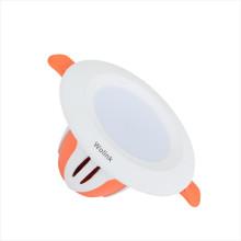 Накладной регулируемый RGB встраиваемый потолочный светильник светодиодный светильник 6w