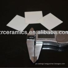High resistance 99% Alumina PCB Substrate /Insulating ceramic PCB