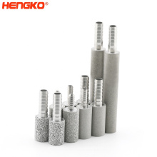Sintered 316L porous stainless steel micro bubble diffuser air sparger for Malted food drinks soda water