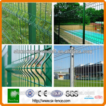 3d designed climber trellis mesh fence/triangle mesh fence