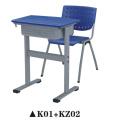 Bureau simple de classe et chaise pour des meubles