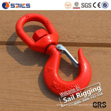 Us Type Drop Forged S-322 Swivel Hook with Safety Latch