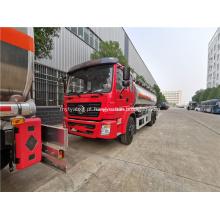 Dongfeng liga de alumínio de aço inoxidável caminhão tanque de óleo