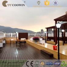 Tabique al aire libre hueco al aire libre del tablón de madera del CE FSC del CE WPC