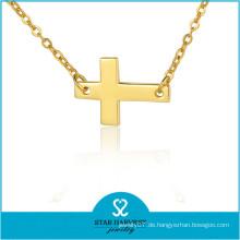Hochwertige Sterling Silber Halskette Dicke Kette Halskette (J-0229N)