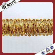 Home Textile Dekorative Trimmband Modische Vorhang Fringe