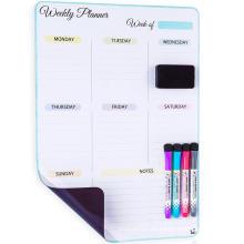 Vertikaler Wochenkalender zum Löschen für den Kühlschrank