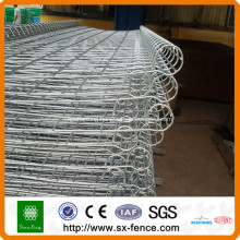 pvc coated double loop fence for house