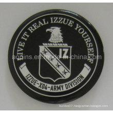 Factory Price Army Tin Button Badge with Print Logo (button badge-44)