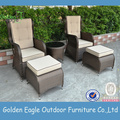 Wicker Furniture Patio Soffa Set Home Furniture