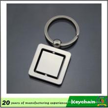 Chaveiro de fiação quadrado de design personalizado