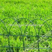 PVC überzogener Gartenmaschendrahtzaun