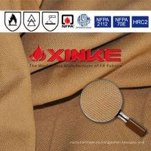 tela ignífuga de lona para ropa usada en industria explosiva