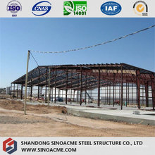 Мастерская стальной структуры Рама в сочетании с Пэб сарай Пакгауза