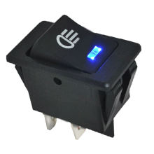 12V 35A Car Fog Light Rocker Switch LED Dash Dashboard Toggle Switch