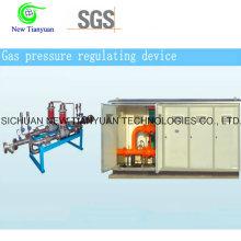 Dispositif de régulation de pression de gaz non corrosif, équipement de régulation de pression