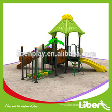 Fashion Design Plastic Outdoor Playground Equipment Set For Kids LE.YG.041
