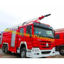 6X4 Water Foam Fire Fighting Tank Truck 12000L