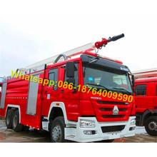 6X4 Water Foam Противопожарная цистерна 12000L