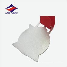 Silver color nice design medalha de medalha de metal de lembrança personalizada