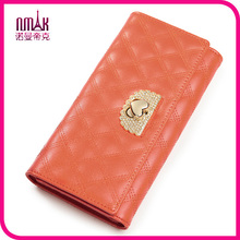 Exquisite Designed Lady Women Long Quilted Purse Clutch Wallet Zip Bag Card Holder