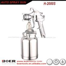 Pistola HVLP modelo H2000 com ventosa de 1000 ml