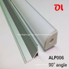 Alp006 Aluminiumprofil LED Aluminium Extrusionen