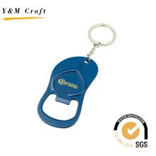 Metall Flaschenöffner Schlüsselanhänger, blaue Flaschenöffner für Geschenk (K03032)