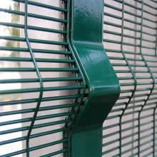 Alta seguridad galvanizado 358 valla de panel de malla soldada
