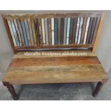 Banco de madera reciclado