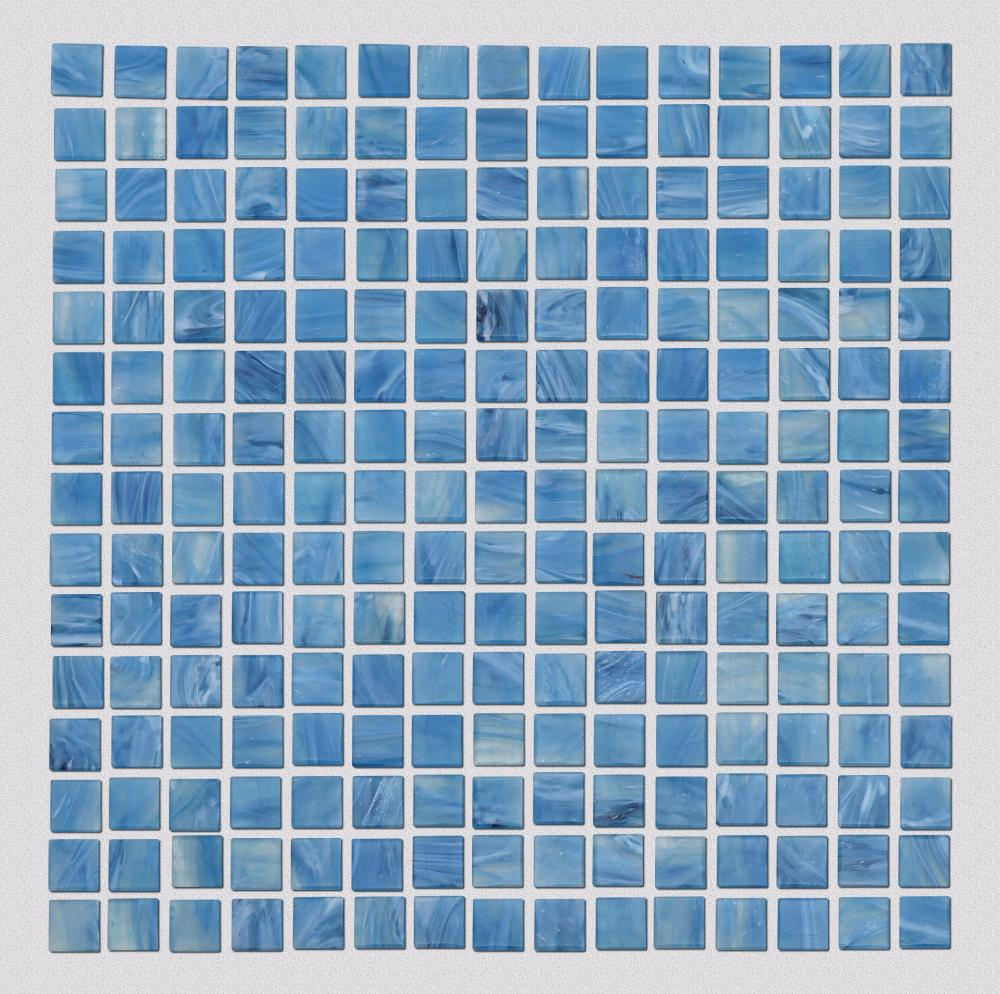 Anti Loose Water Color Squar Glass Mosaic S6