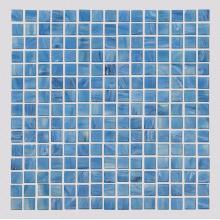 Стеклянная мозаика Blue Square для открытого бассейна