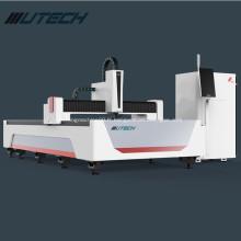machine de découpe laser à fibre pour accessoire rotatif en métal