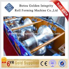Usado color de acero Metal Roof Ridge Cap azulejos Cold Roll formando máquina / Making Machine China