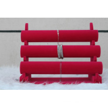 Red Floors Velvet Watch Bangle Display Stand Manufacturer