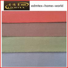 100% poliéster 3 Pass Blackout tecido para cortinas EDM4608