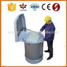 Alta qualidade e alta eficiência Tipo de jato de ar e tipo vibratório coletor de poeira para silo de cimento