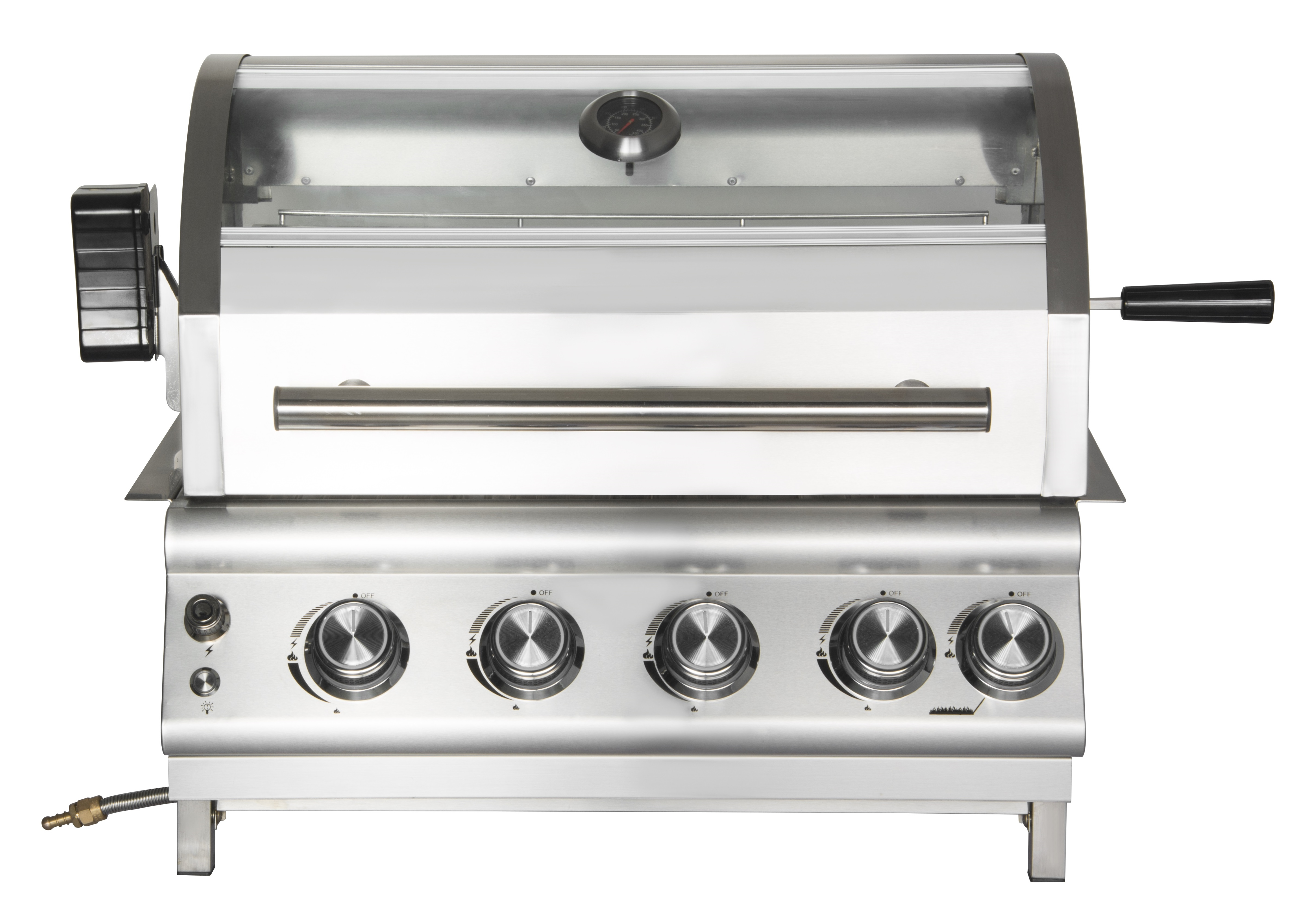 4 Burner Outdoor Built-In Gas Grill
