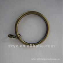 R06 curtain hanging metal iron curtain ring