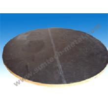 Explosion lié R60702/A516 Gr. 70 Zirconium plaqué Plate / plaque tubulaire