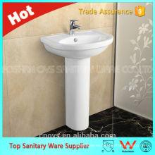 ovs item A7102 lavabo de pedestal de pie