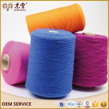 fil de tricot de fil de cachemire recyclé, prix du fil de cachemire 28/2 en Chine
